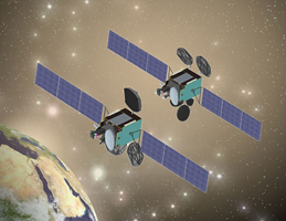 Turksat 4A and 4B Satellite Rendering
