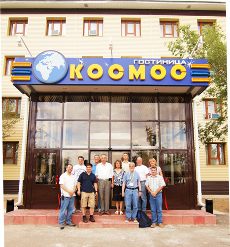 Kosmos Hotel at the Baikonur Cosmodrome