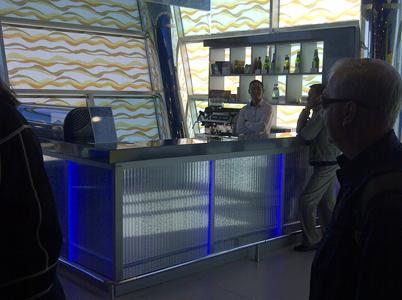New Krainy Airport Terminal Lounge