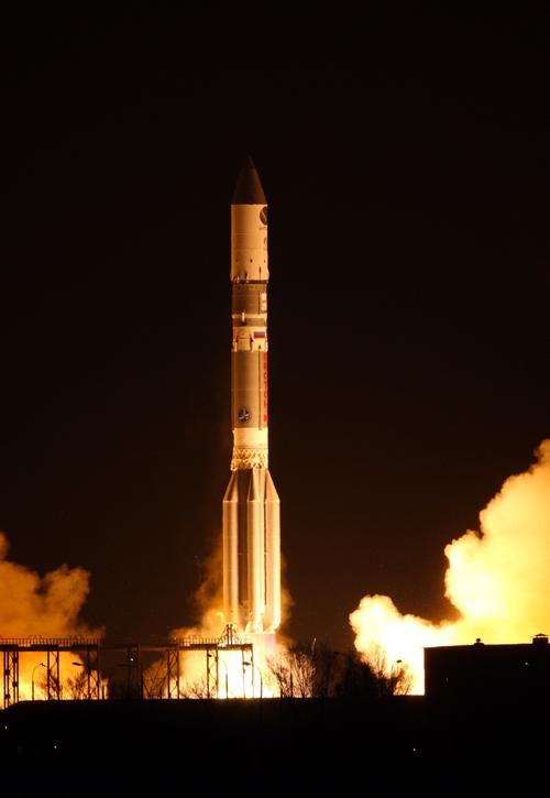 Satmex 8 Launch