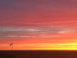 Baikonur Sunrise