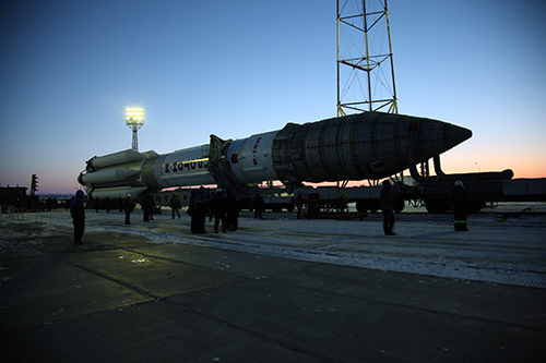 rollout to launch pad